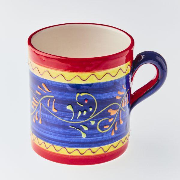 Buy large mug handmade and hand painted Spanish decoration