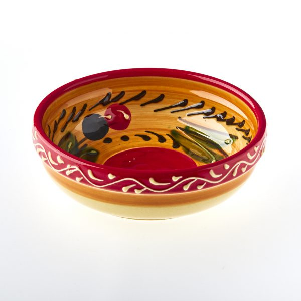 Olives bowl mediterranean ceramics