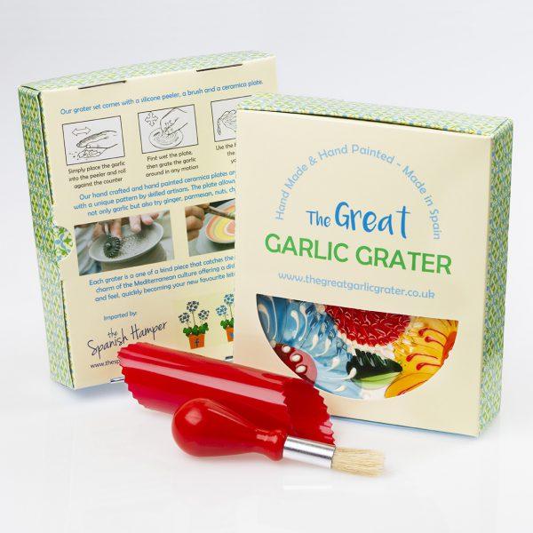 Ginger and garlic grater set